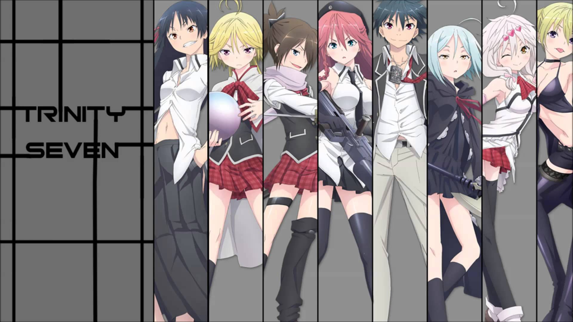 Trinity Seven Image - ID: 193830 - Image Abyss