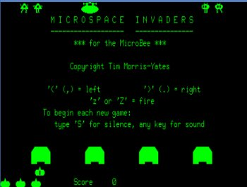 Microspace Invaders