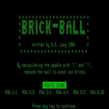 Brick-Ball