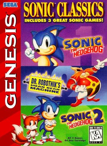 Sonic Classics: 3-in-1