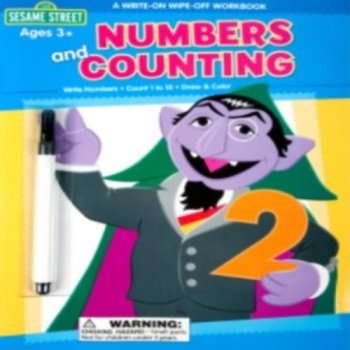 Sesame Street Crayon: Numbers Count