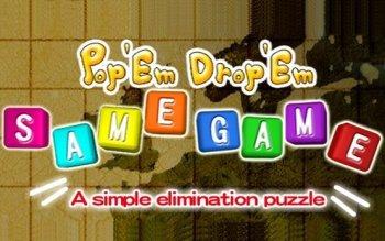 Pop 'Em Drop 'Em SameGame
