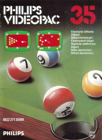 Electronic Billiards
