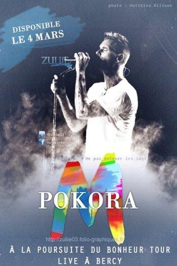 M Pokora - Concert à Bercy