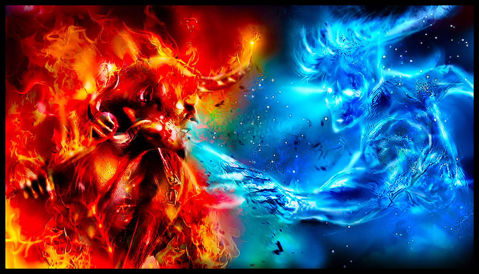 Fire & Ice Image
