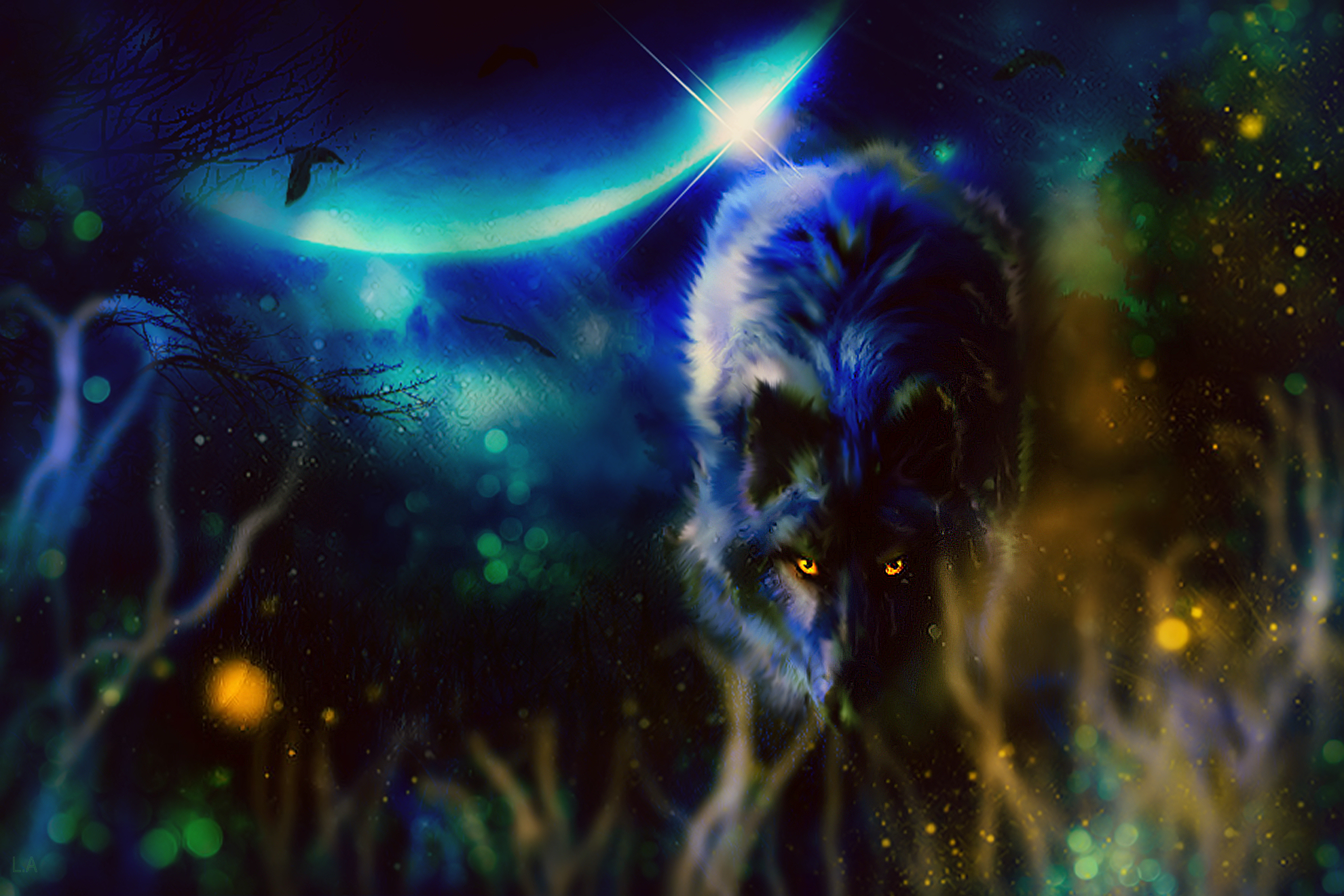 BLACK WOLF Image - ID: 213743 - Image Abyss