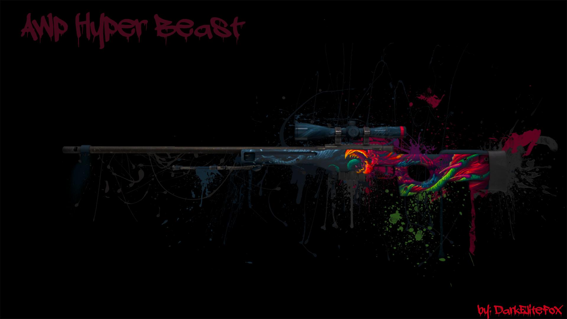 AWP Hyper Beast Wallpaper Picture  ID 2155
