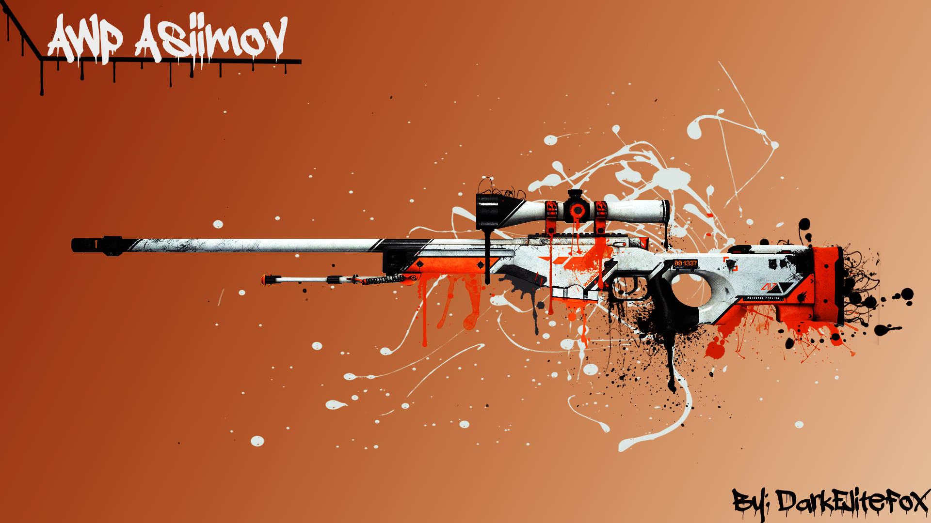 AWP Asiimov Wallpaper Picture  ID 2158
