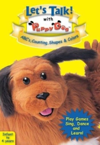 Let's Talk With Puppy Dog - ABC's, Counting, Shapes & Colors