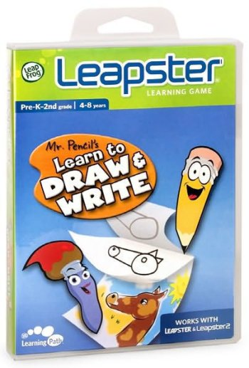 Mr. Pencil's Learn to Draw and Write