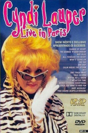Cyndi Lauper Live in Paris