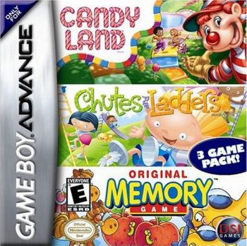 CandyLand / Chutes & Ladders / Original Memory Game