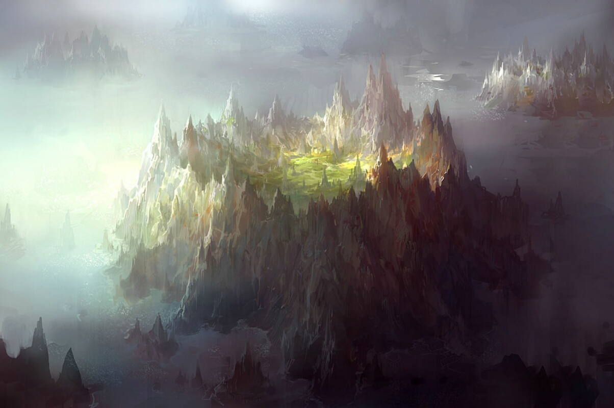 Preview Fantasy landscape