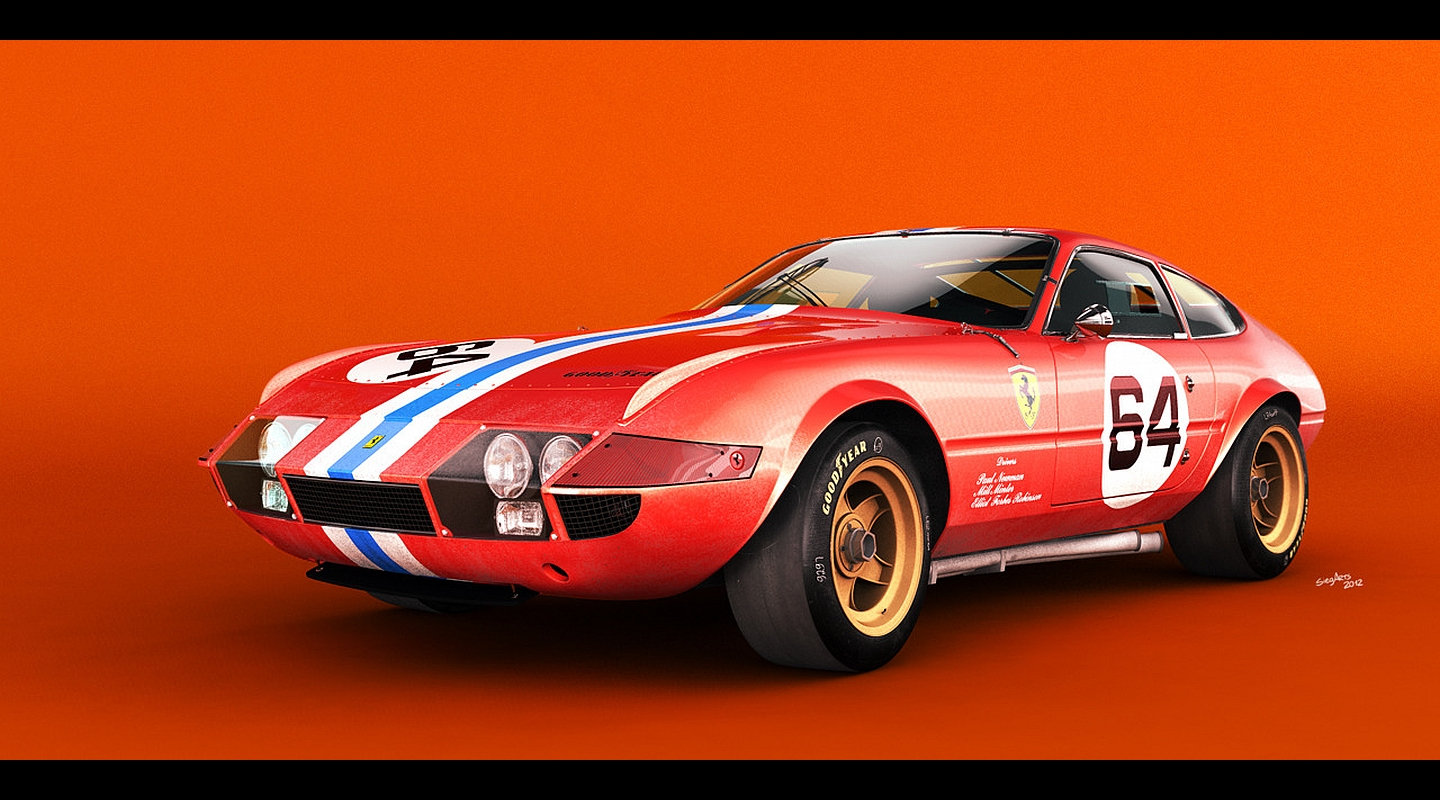 Preview Ferrari 365 GTB/4 Daytona