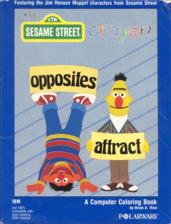 Sesame Street Crayon: Opposites Attract