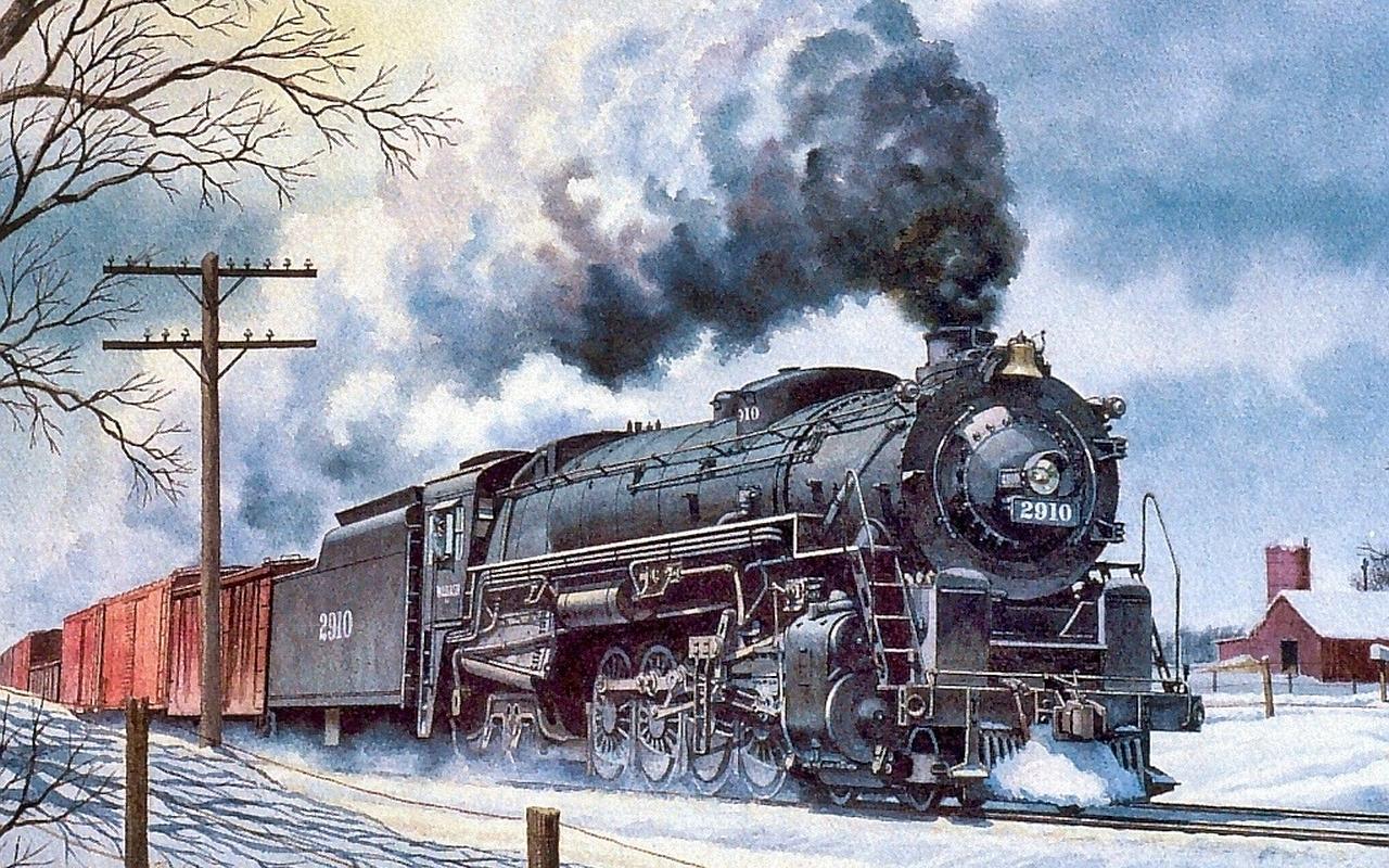 Открытка о железной дороге, дню учителя