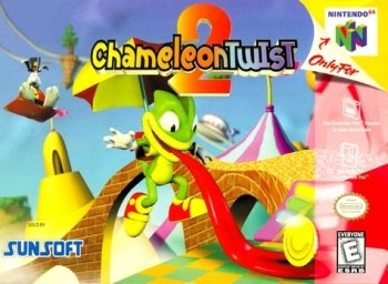 Chameleon Twist 2 High Resolution Box Art