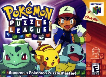 Pokémon Puzzle League High Resolution Box Art