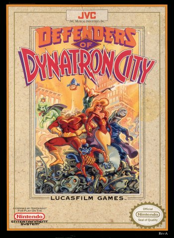Defenders of Dynatron City