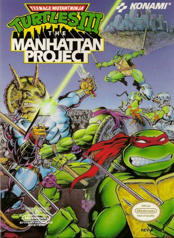 Teenage Mutant Ninja Turtles III: The Manhattan Project