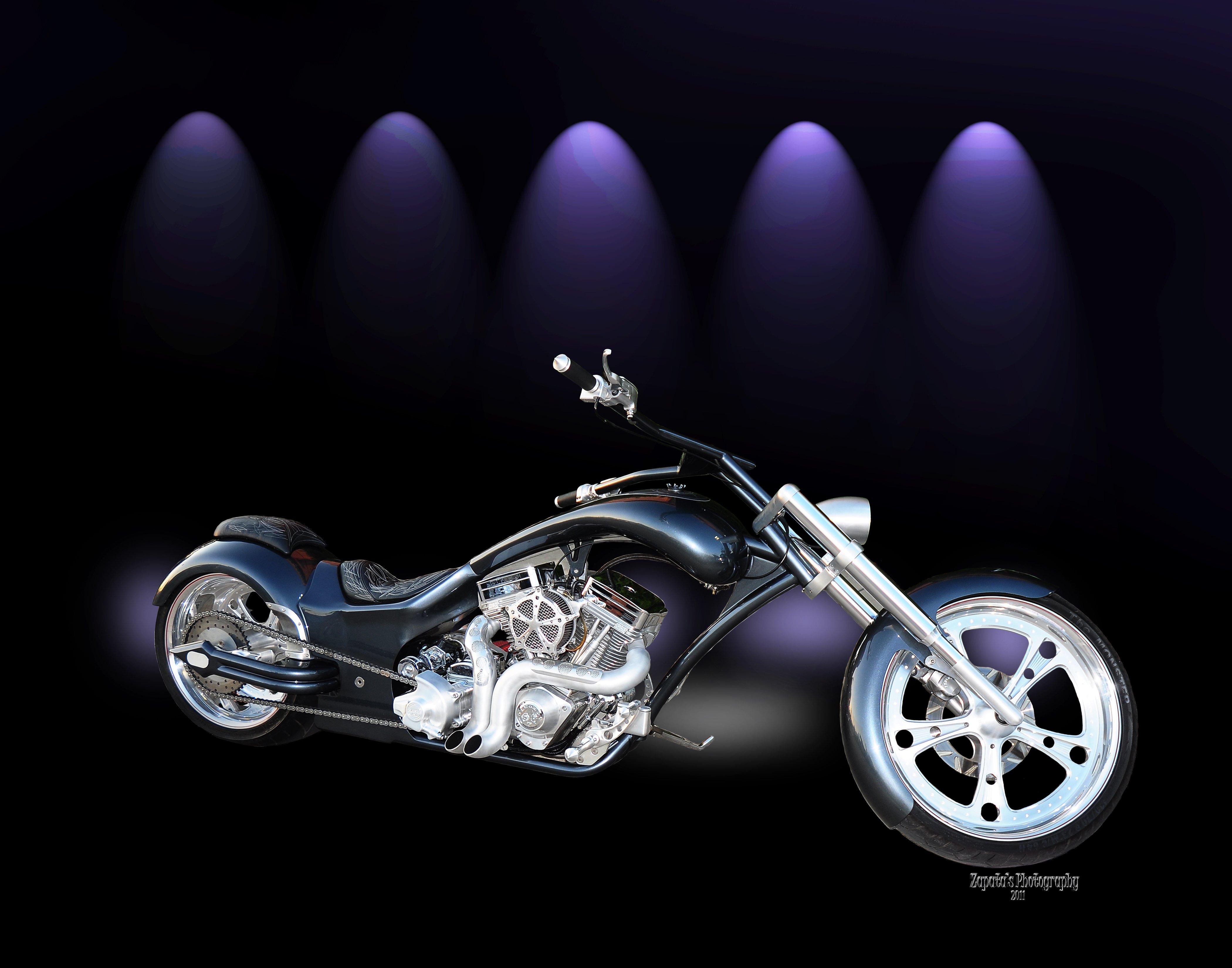 Февраля, видео открытка с мотоциклами