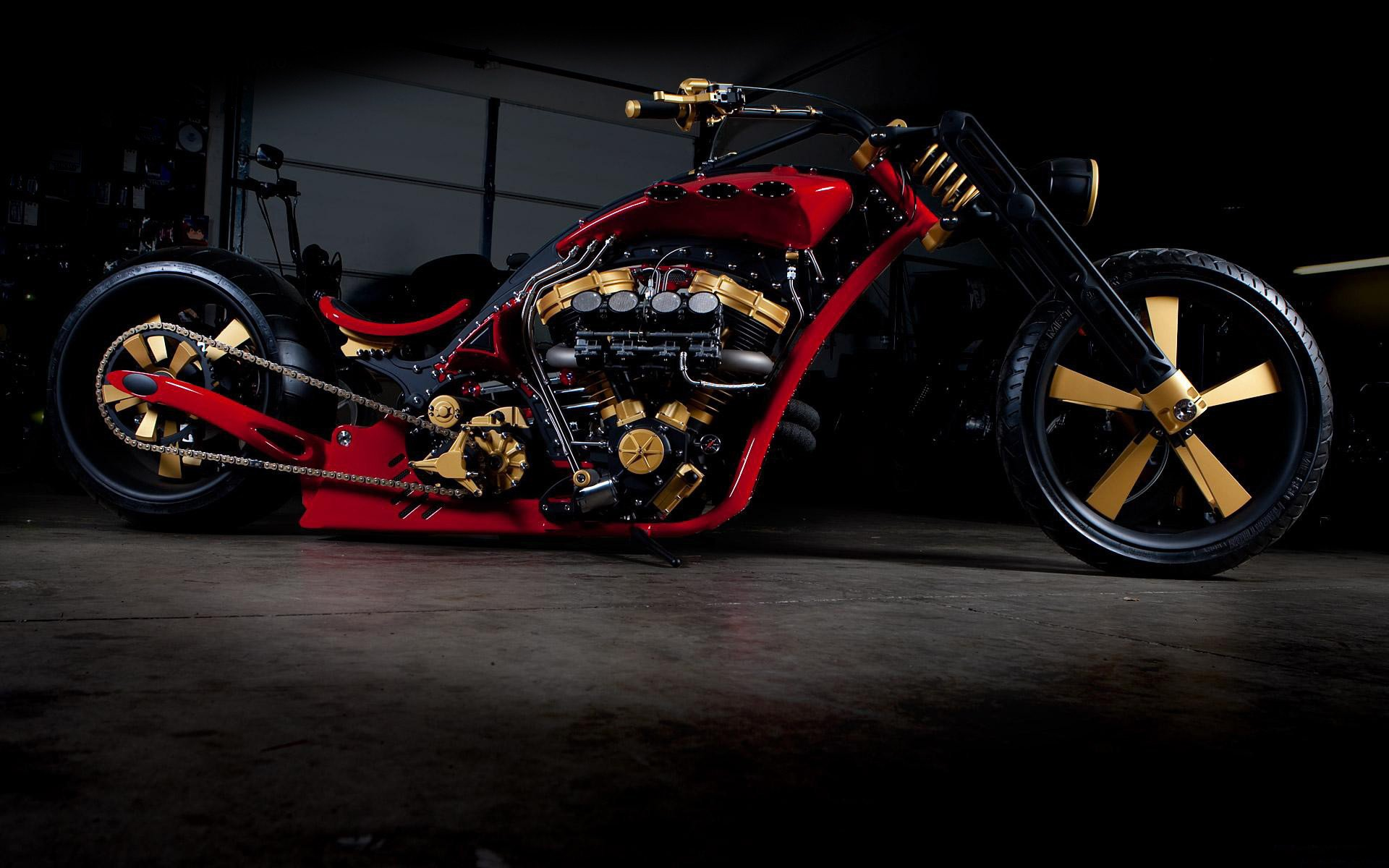 мотоцикл черный гараж загрузить