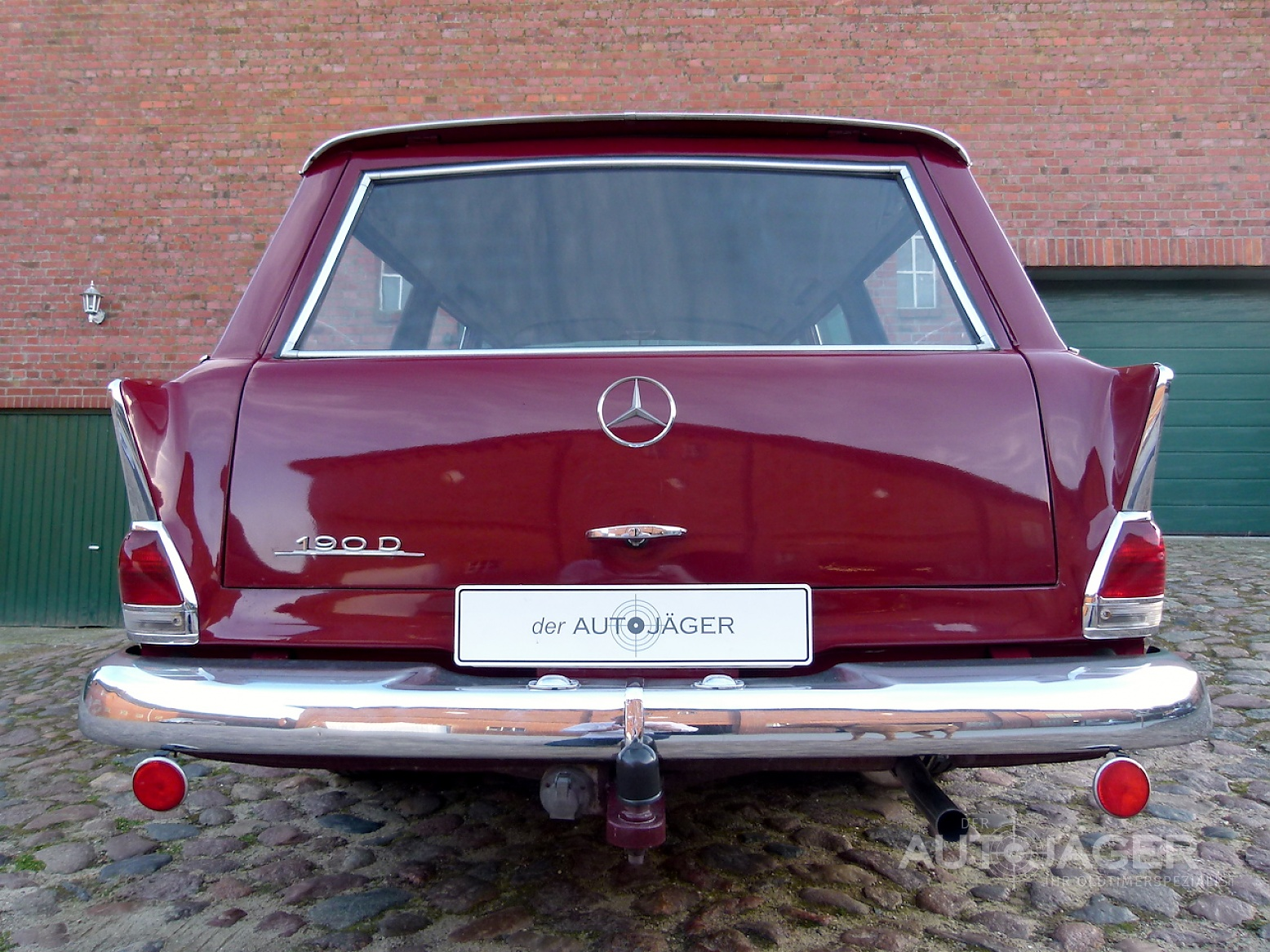 Preview Mercedes-Benz 190D Estate
