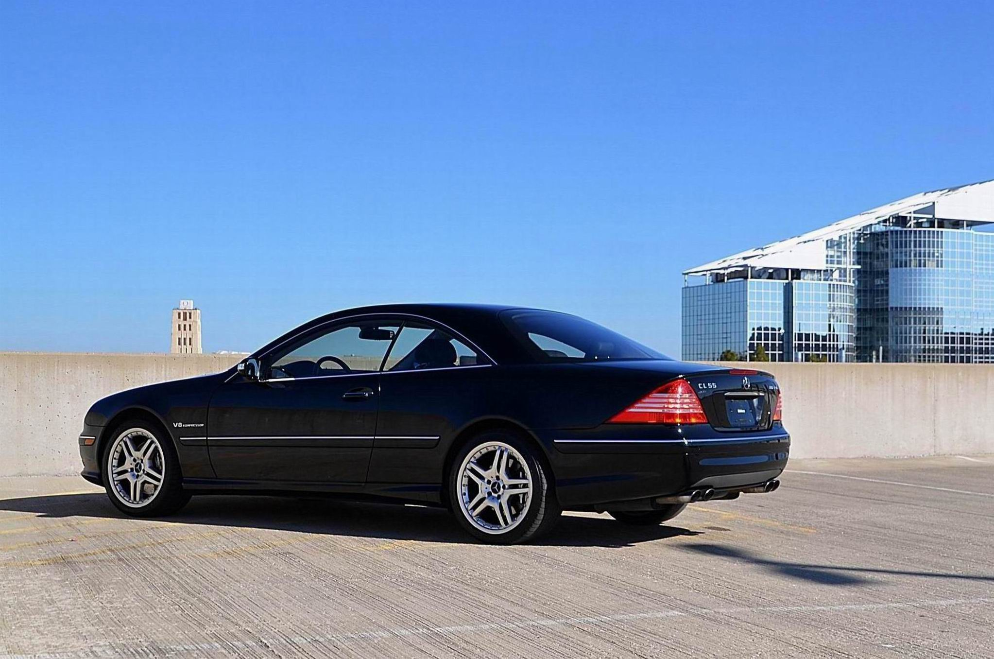 Preview Mercedes-Benz CL55 AMG