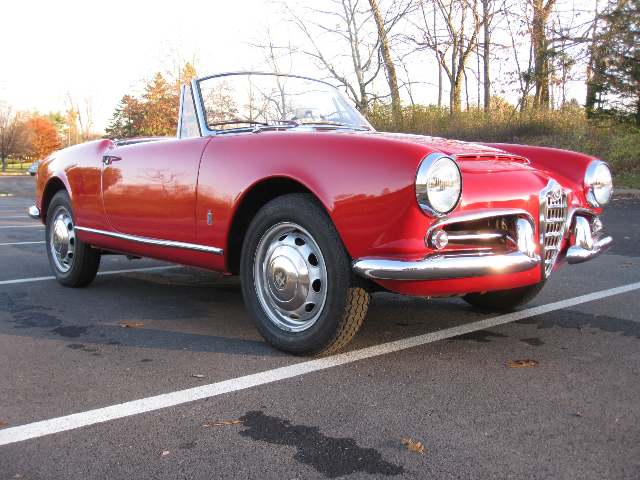 Preview Alfa Romeo Giulia 1600 Spider