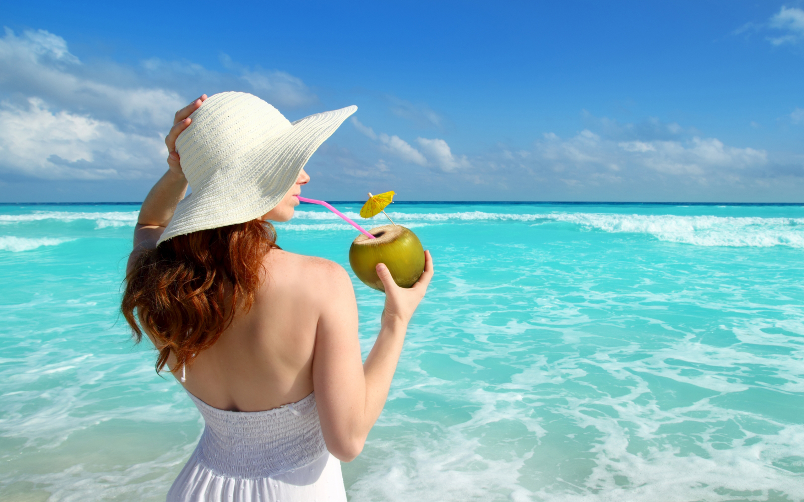 Woman on Tropical Beach Image - ID: 303475 - Image Abyss