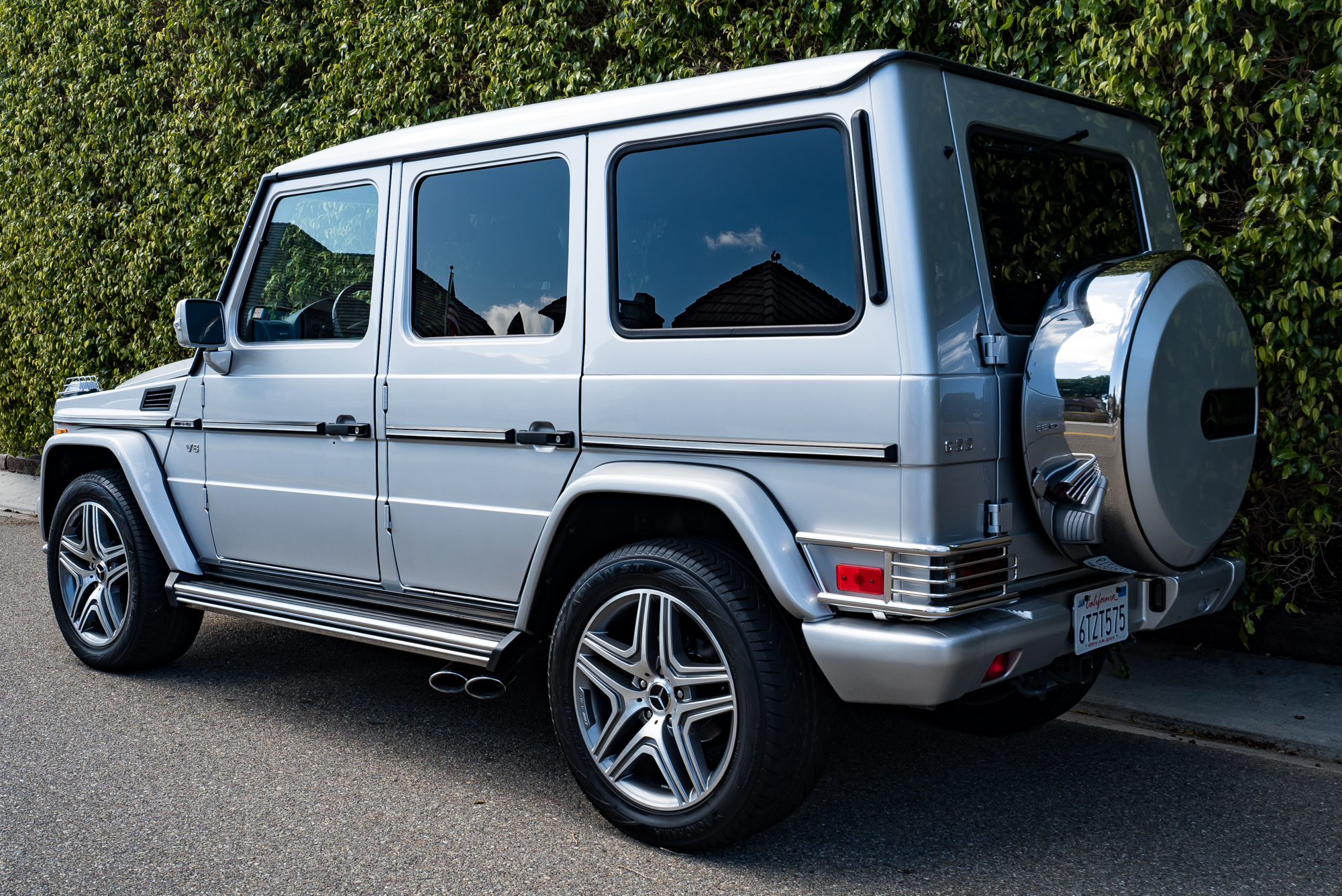 Preview Mercedes-Benz G55 AMG