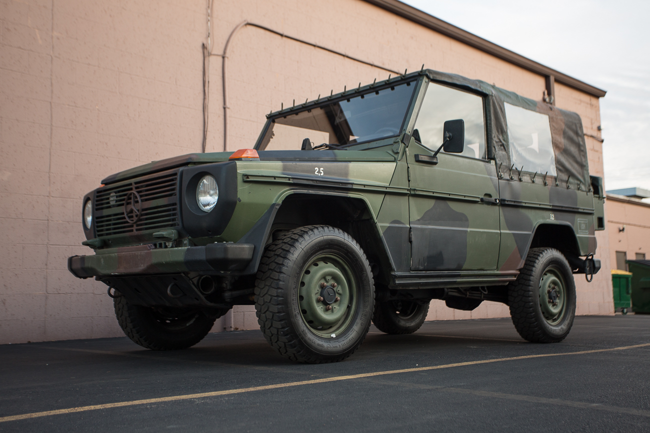 Preview Military: Mercedes-Benz Wolf 250GD