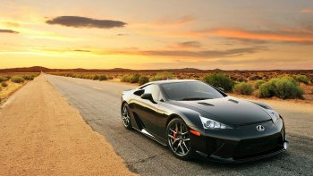 Preview Lexus LFA