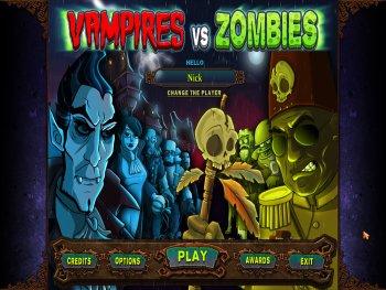Dracula: Vampires vs. Zombies