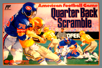 American Football Game: Quarter Back Scramble