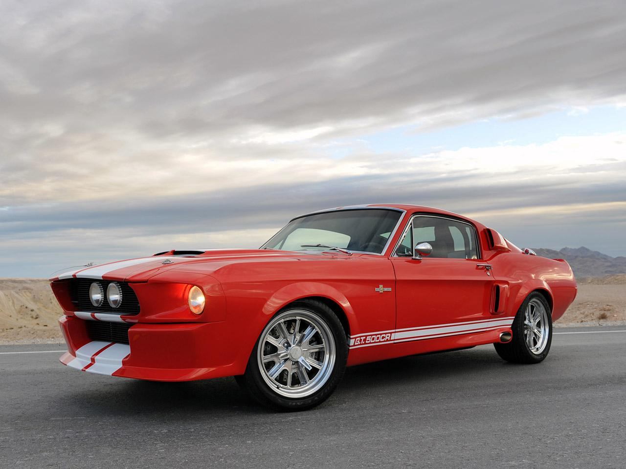 Preview Shelby GT500 Classic Recreation