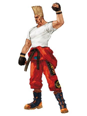 Preview Tekken 4 Sketches