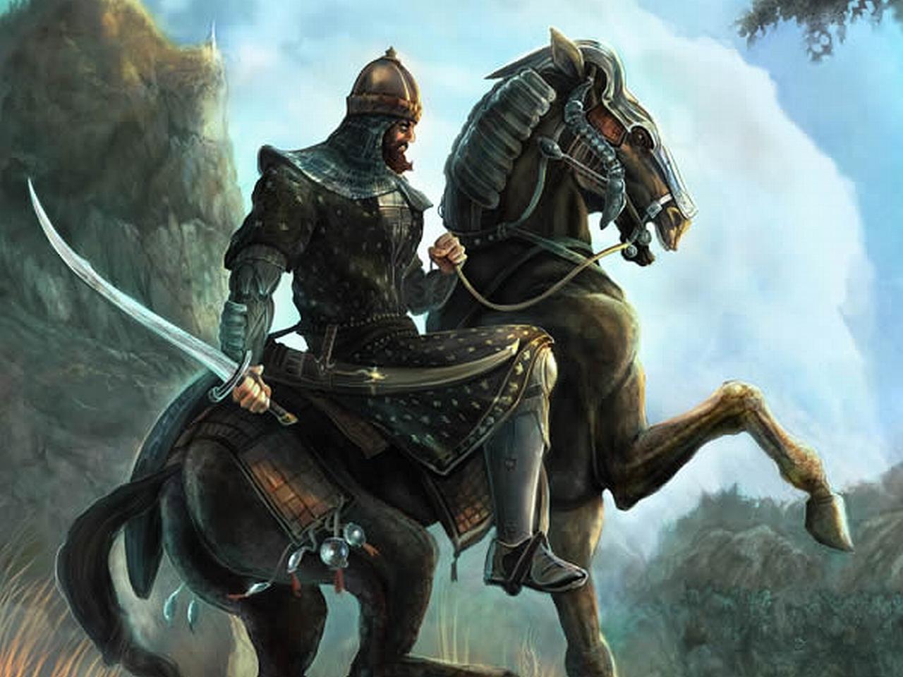 картинки древних воинов верхом на коне поможет продвинуть