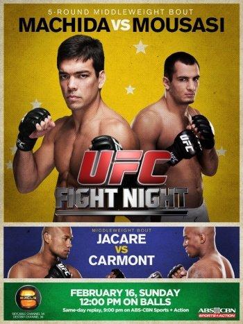 UFC Fight Night 36: Machida vs. Mousasi