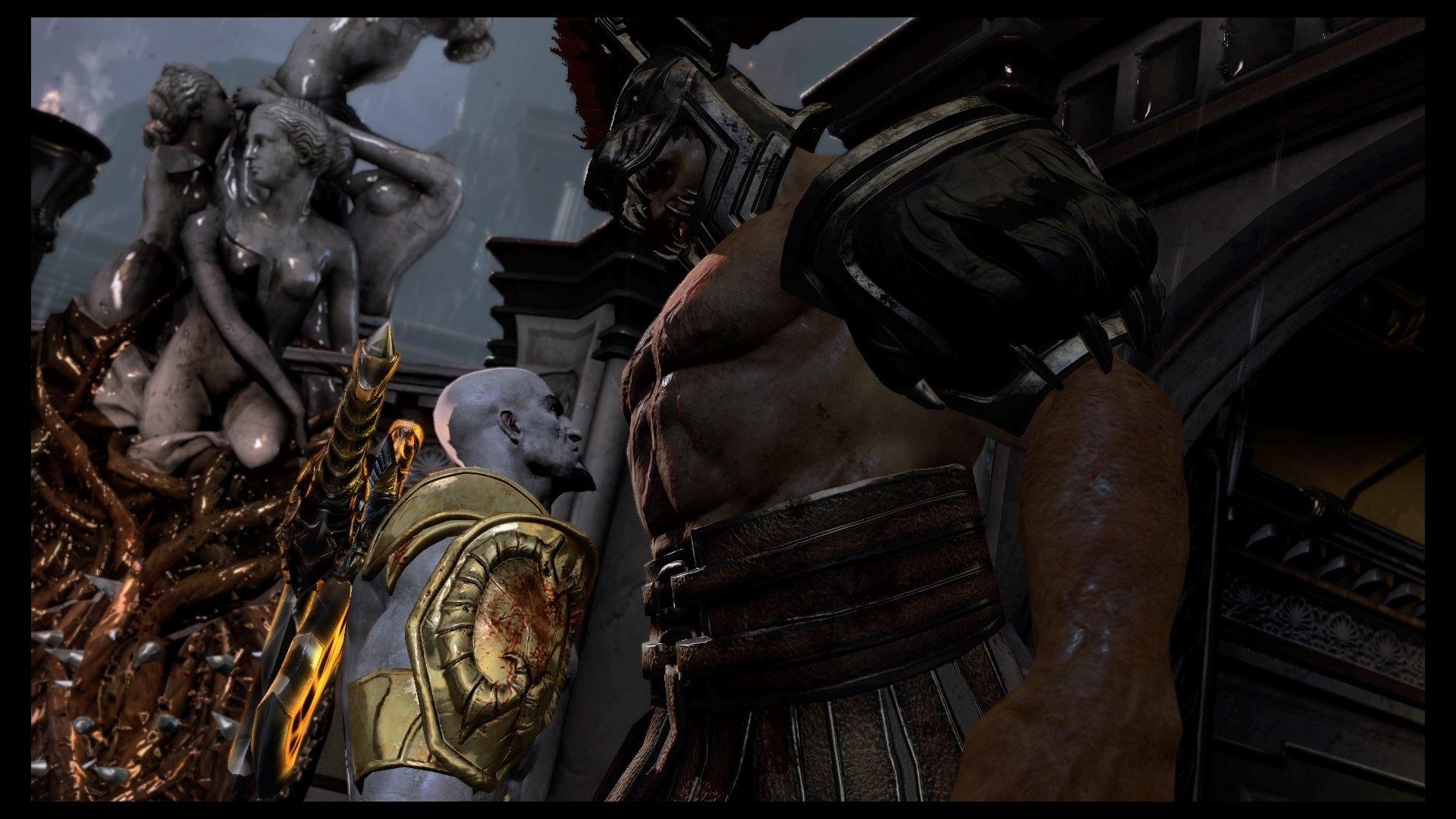 Kratos Vs Hercules