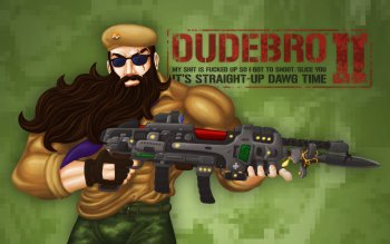 Dudebro™ — My Shit Is Fucked Up So I Got to Shoot/Slice You II: It's Straight-Up Dawg Time