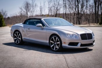 Preview Continental GTC V8