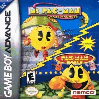 Ms. Pac-Man Maze Madness and Pac-Man World