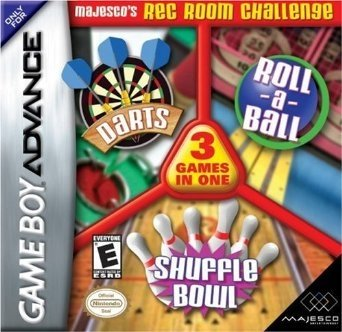 Majesco's Rec Room Challenge: Darts / Roll-a-Ball / Shuffle Bowl