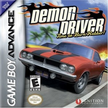 Demon Driver: Time to Burn Rubber
