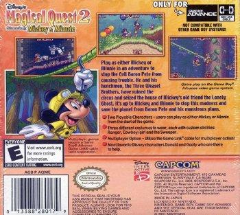 Disney's Magical Quest 2 Starring Mickey & Minnie
