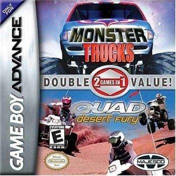 2 Games In 1 Double Value!: Monster Trucks / Quad Desert Fury