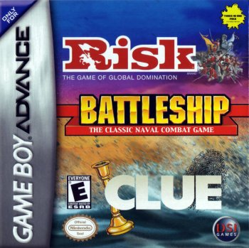 Risk, Battleship, Clue