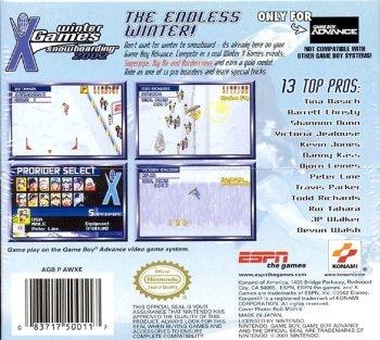 ESPN Winter X-Games Snowboarding 2002