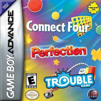 Connect Four / Perfection / Trouble